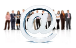 Web support team Royalty Free Stock Images