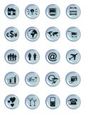 Web symbol buttons Royalty Free Stock Images
