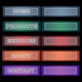 Web-Tasten Stockfoto