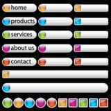 Web-Tasten Lizenzfreies Stockfoto