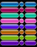 Web-Tasten Stockbild