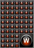 Web-Tasten Lizenzfreie Stockbilder
