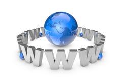 Web technologies. Globalization. International communication sys Stock Images