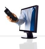 Web-Telefon Lizenzfreie Stockfotos