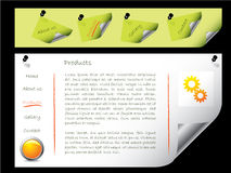 Web template 10 Royalty Free Stock Photography