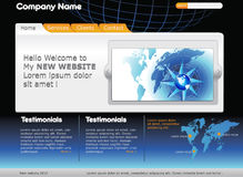 Web Template Stock Photos