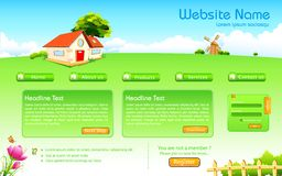 Web Template Stock Photo