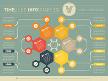Web Template for circle infographic, diagram or presentation. Bu Royalty Free Stock Photo
