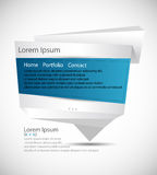 Web template - Origami Stock Photography
