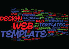 Are Web Templates Worth It Word Cloud Concept. Are Web Templates Worth It Text Background Word Cloud Concept royalty free illustration