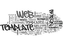 Are Web Templates Worth It Word Cloud. ARE WEB TEMPLATES WORTH IT TEXT WORD CLOUD CONCEPT vector illustration