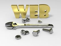 WEB tools Royalty Free Stock Image