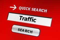 Web traffic Royalty Free Stock Photo