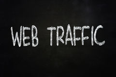 Web Traffic Internet Concept Royalty Free Stock Photos