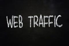 Web Traffic Internet Concept Royalty Free Stock Photos