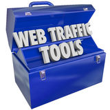 Web Traffic Tools Toolbox Increase Website Search Frequency Repu Royalty Free Stock Photos