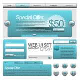Web UI Elements Royalty Free Stock Images