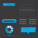 Web UI Elements Design Stock Image