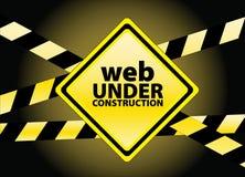 Web under construction Royalty Free Stock Image