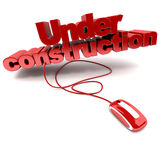 Web Under construction Stock Image