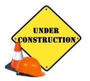 Web under construction Royalty Free Illustration