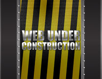 Web under construction Royalty Free Stock Photo