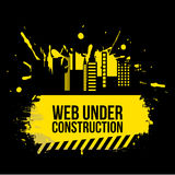 Web under construction Royalty Free Stock Images