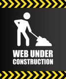 Web under construction Stock Image