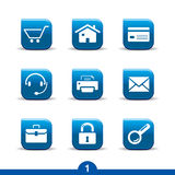 Web universal icons 1..smooth series Stock Photo