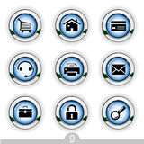 Web universal icons Royalty Free Stock Photos