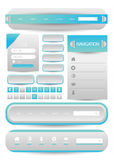 Web user interface element .  Stock Images