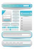 Web user interface element .. Illustration of Web user interface element .  design Stock Images