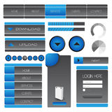 Web user interface element . vector Royalty Free Stock Photography