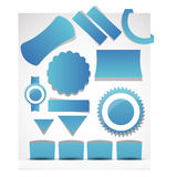 Web user interface element . vector Stock Image