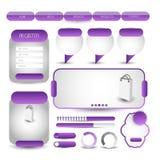 Web user interface element . vector. Illustration of Web user interface element . vector design Stock Image