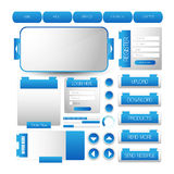 Web user interface element . vector Royalty Free Stock Image