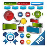 Web user interface element . vector Stock Photography