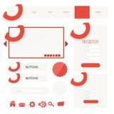 Web user interface element . vector. Illustration of Web user interface element . vector design Royalty Free Stock Photo