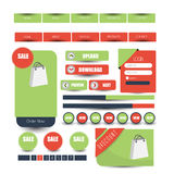 Web user interface element . vector. Illustration of Web user interface element . vector design Royalty Free Stock Image