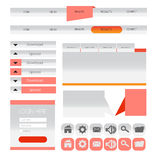 Web user interface element . vector. Illustration of Web user interface element . vector design Royalty Free Stock Photography