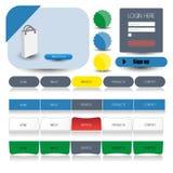 Web user interface element . vector Stock Photo