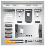 Web user interface element . vector. Illustration of Web user interface element . vector design Royalty Free Stock Images