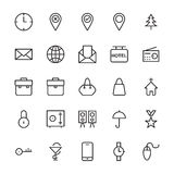Web and User Interface Outline Vector Icons 1. Here is a useful and trendy Web and User Interface Vector Icons pack. Hope you can find a great use for them in Stock Photography