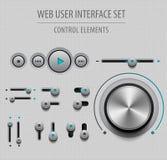 Web User Interface Set Stock Images