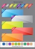 Web Vector Button Set Stock Photography