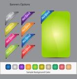 Web Vector Button Set Stock Image