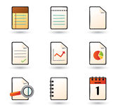 Web vector icons. Professional icons for websites, applications or presentations Stock Photos