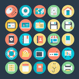 Web Vector Icons  1 Royalty Free Stock Photography