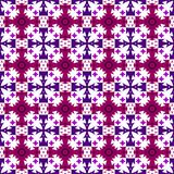 Vector violet, purple and cherry seamless ornament. royalty free illustration