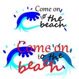 web Vettore di Wave precipitante surf Grafico di Wave Progettazione grafica della maglietta illustrazione vettoriale